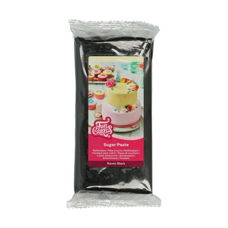 Pâte à sucre Raven Black - 1kg