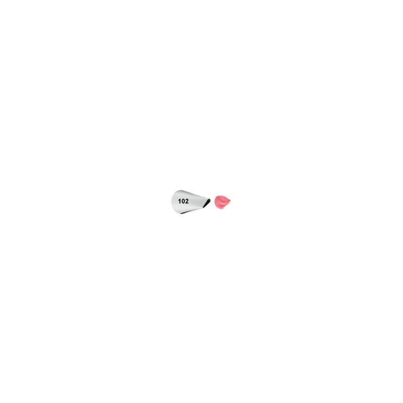 Douille décoration Tip #102 Pétale
