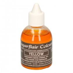 Airbrush-Farbe-Gelb