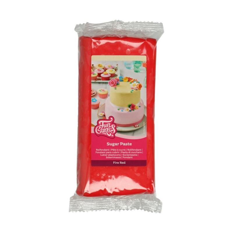 Pâte à sucre Fire Red - 1kg