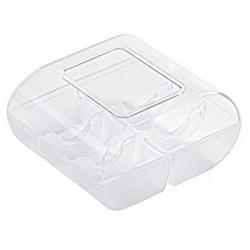 Macaroon box 6pce- Clear