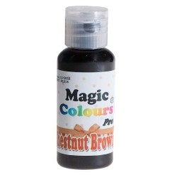 "Colorant gel ""Chestnut Brown"" Maron - 32g"