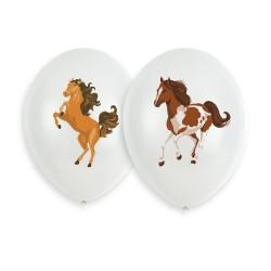 6 Balloons Horse