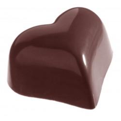 Moule à Chocolats en Polycarbonate - Coeur