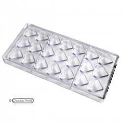 Polycarbonate Chocolate Mold - Heart