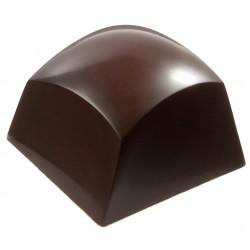 Moule à Chocolats en Polycarbonate - Sphère Carrée Twist