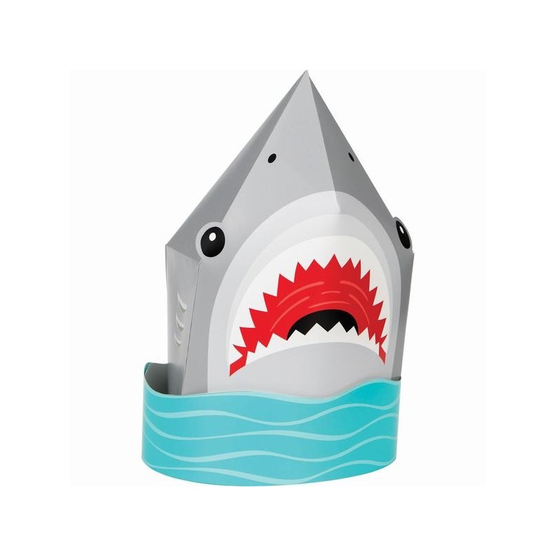 Tischdekoration 3D Hai-Fisch