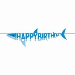 Guirlande Requin Happy Birthday