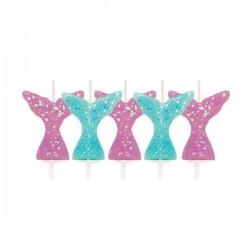 5 Candles Mermaid