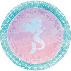 Plates Mermaid