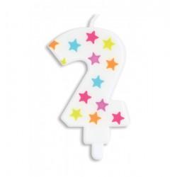 Bougie- étoile N°2