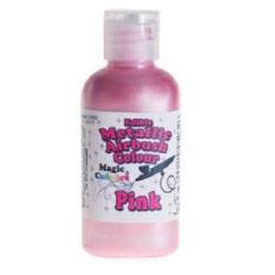 "Airbrush Métalique ""Pink"" Rose - 55ml"