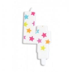 Bougie- étoile N°4