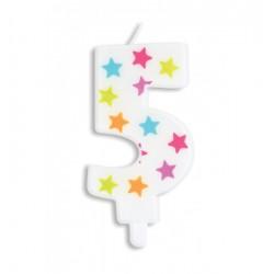 Bougie- étoile N°5