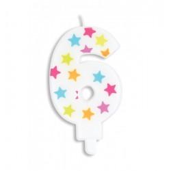Bougie- étoile N°6
