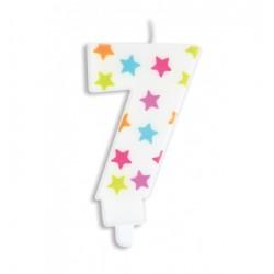 Bougie- étoile N°7