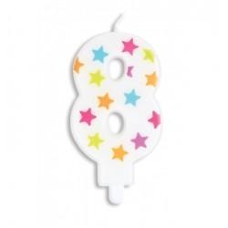 Bougie- étoile N°8