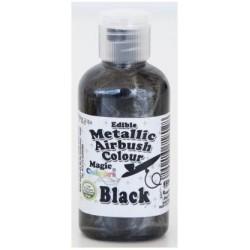 """Airbrush Métalique """"Black"""" Noir - 55ml"""