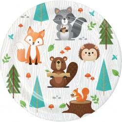 8 Little Plates Woodland