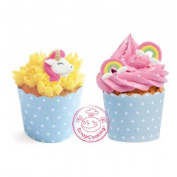 Decorations Unicorn and Rainbow in sugar