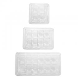 Transparente Box für 4 , 8  oder 12 Makronen