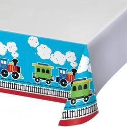 Tablecloth Train