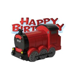 Cake Topper Train 2 pcs