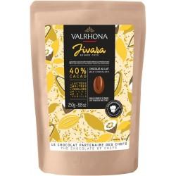 Couverture Valrhona brown chocolate Jivara 250gr