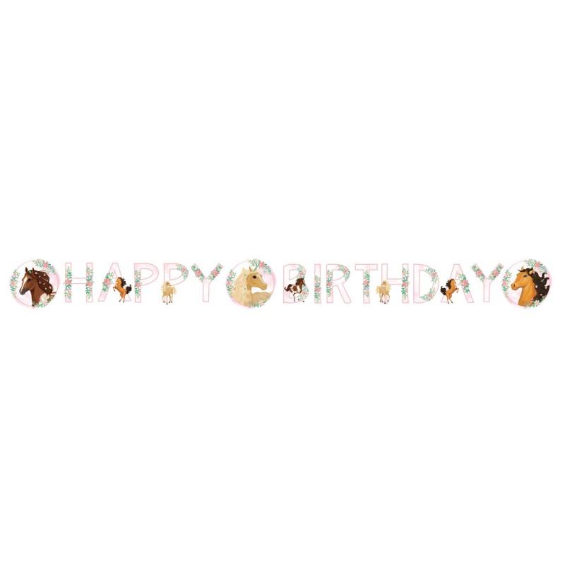 Garland Happy Birthday Horse
