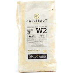 Chocolate Callets -White- 1kg