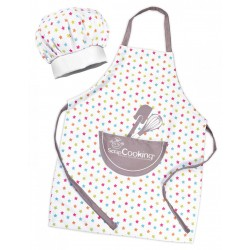 Set tablier + toque enfant