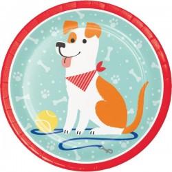 Plates Dog
