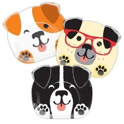 Plates Dog 2D