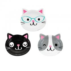 "Plates ""Cat's head"""