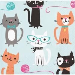 """Small """"cat"""" towels"""