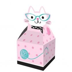 """Cat"""" treats boxes"""