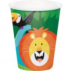 """8 """"Safari"""" cups"""