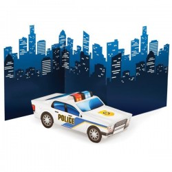 Table decoration 3D Police