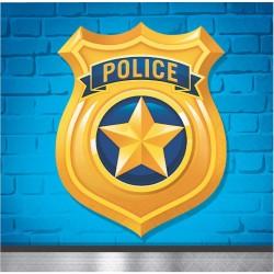 Small napkins Police