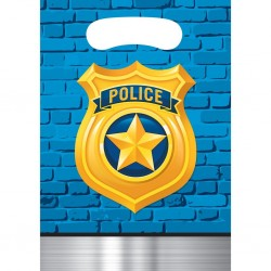 """Police"""" candy bag"""