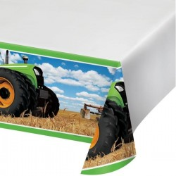 Tablecloth Tractor