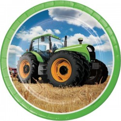 Plates Tractor