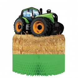 Table decoration 3D Tractor