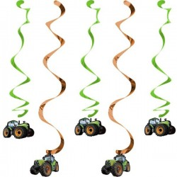 5 Dekospiralen Traktor
