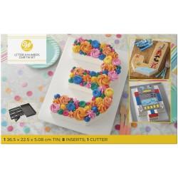Kuchenform - unendlich viele Möglichkeiten - Zahlen und Buchstaben - number cake