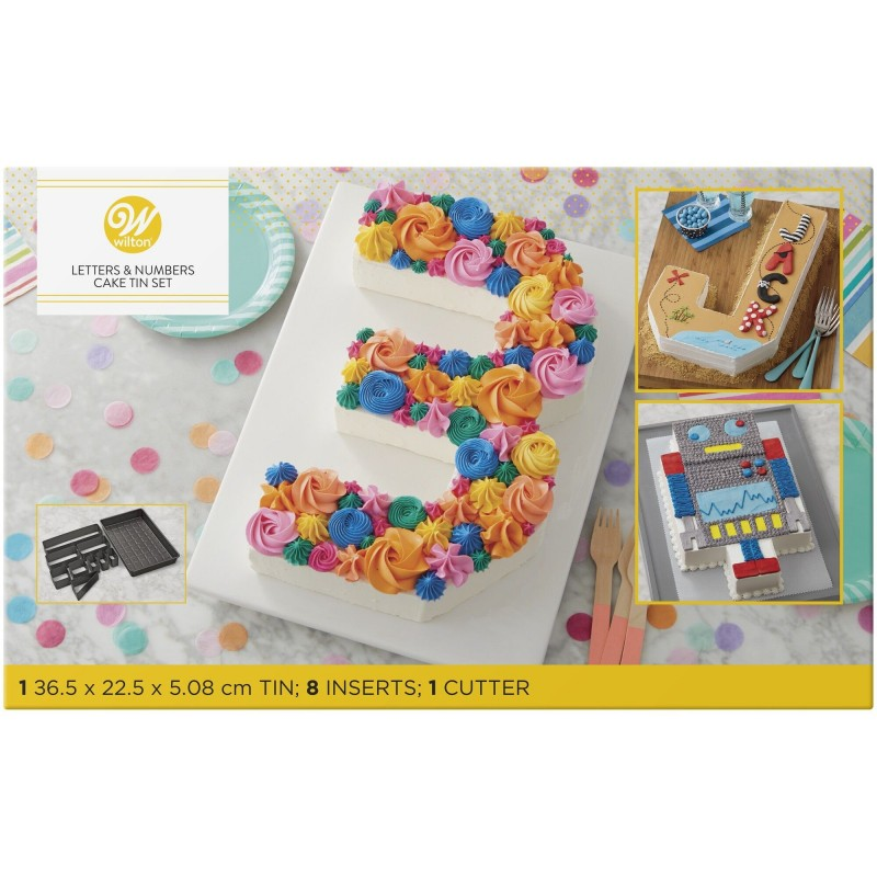Cake Pan Countless Celebrations - Numbers and letters - number cake