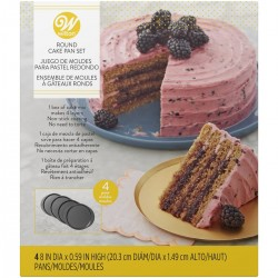 Cake Pan Easy Layers - 20cm - Set/4