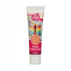 Gel food colors, funcakes,  peach
