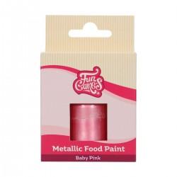 "Metallic Food Paint ""Baby Pink"""