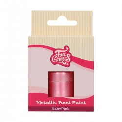 "Metallic-Lebensmittelfarbe ""Baby Rosa"""